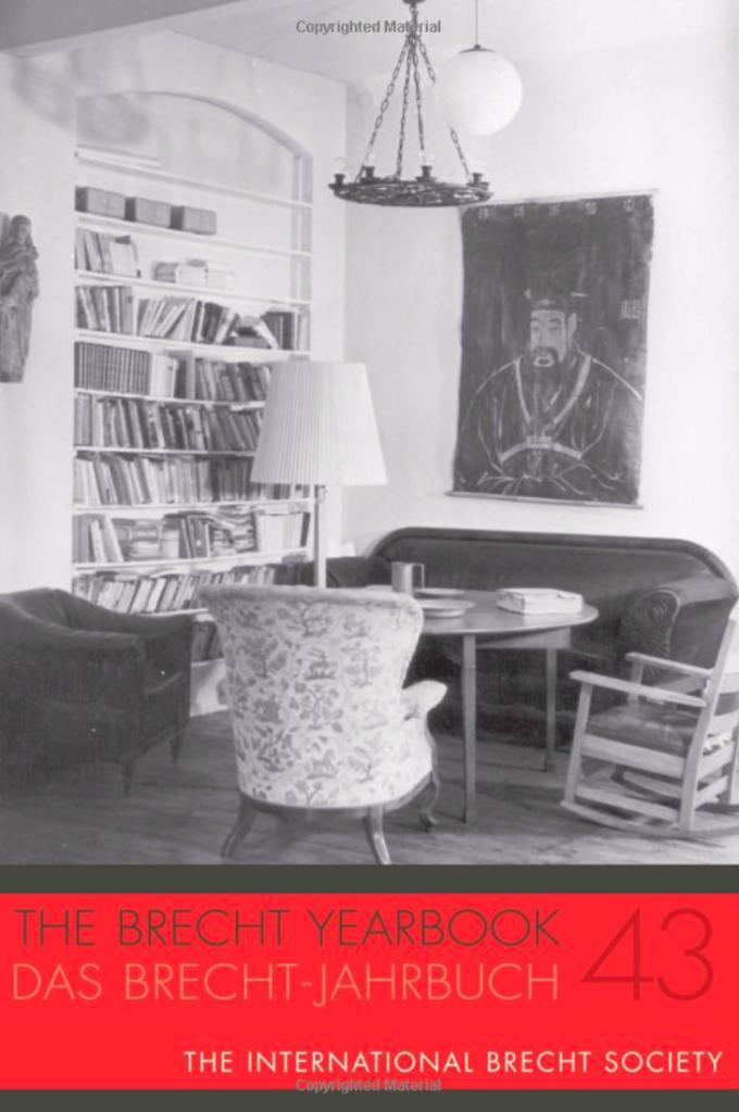 Brecht Jahrbuch 43 |Brecht und Gisela Elsner